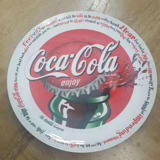Collector item. Coke plate