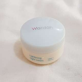 Wardah Lightening Night Cream