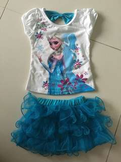 Brand New Frozen 2piece outfit