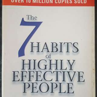 7 Habits of Highly Effective People: Powerful Lessons in Personal Change - by Stephen R. Covey