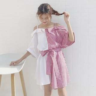 Summer Strapless Dress
