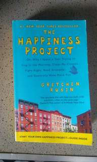 Buku The Happiness Project