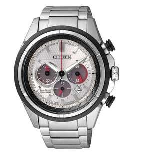 CITIZEN 光動能CA4241-55A超級鈦金屬腕錶
