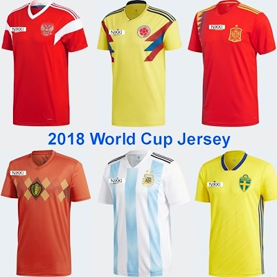 release date f1a5e cab98 2018 russia world cup jersey, Sports, Sports Apparel on ...