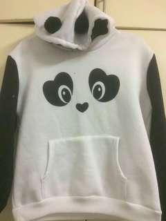 Unisex panda jacket