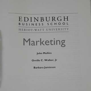 Marketing MBA