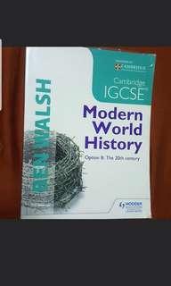 IGCSE Modern World History
