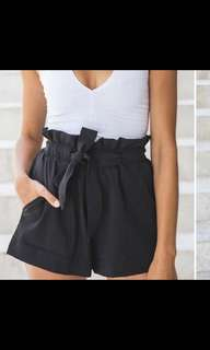 Scrunched highwaist short