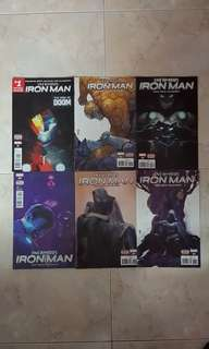 "Infamous Iron Man (Marvel Comics 6 Issues; #1 to 6, story arc on ""Infamous"")"
