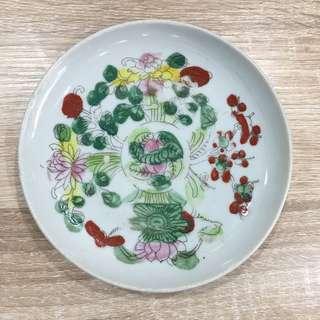 粉彩 small plate