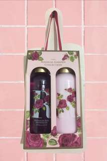BATH&BLISS MAGICAL GARDEN COLLECTION (body wash and lotion)