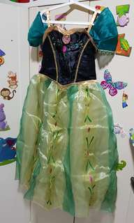 Costume - Anna dress from The Disneystore