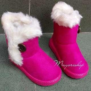 NEW Koleksi Sepatu Boots Anak Terbaru 2018 Kids Fashion Shoes