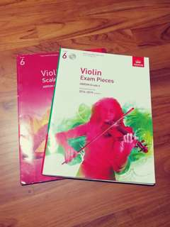WTS ABRSM Violin Grade 6 2016 - 2019 Scales & Arpeggios and Exam Pieces