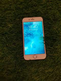 IPhone 6S 64gb Rose Gold second in good condition