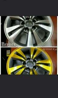 May Sales EZ Coat for Car Rim and Chrome Part