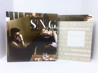 CD Nick Chou 周汤豪 - S.N.G (Hey! NICKTHEREAL 版)