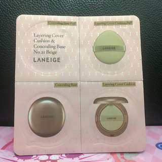 包郵 LANEIGE cushion & concealing base