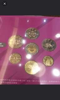 罕有,1997年香港回歸特別發行,特別版流通紀念硬幣套裝,每套