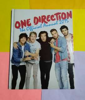 1D OFFICIAL ANNUAL 2015 / ONE DIRECTION CHALK MAGAZINE