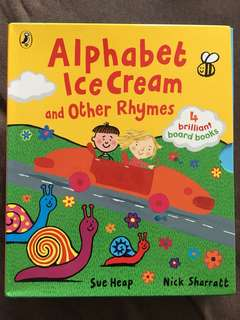 Alphabet ice cream and other rhymes