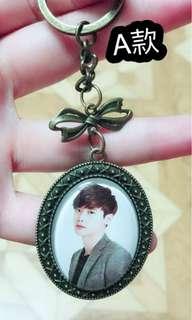 🚚 李鍾碩 時光寶石鑰匙圈