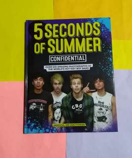 5SOS / 5 Seconds Of Summer BOOK