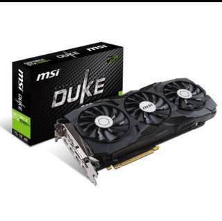 MSI GTX 1080Ti Duke Edition 11GB