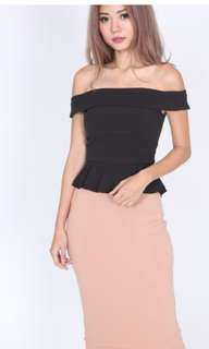 🔴BNWT🔴Mds krystal top in black