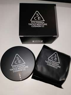 3CE tinted moisture CC cushion