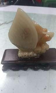 天然壽山石
