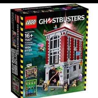 Lego ghostbuster firehouse ecto 1 bundle