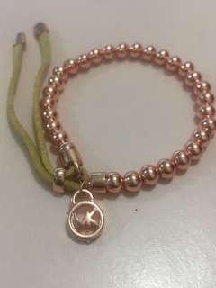 Micheal Kors Rosegold bracelet (包郵)