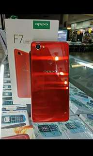 Oppo F7 red