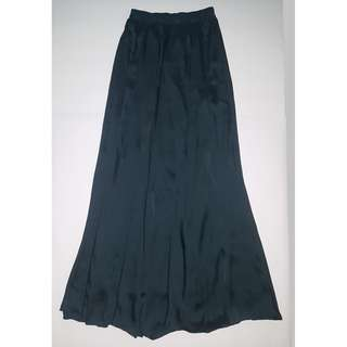 Turquoise Maxi Skirt - Size S