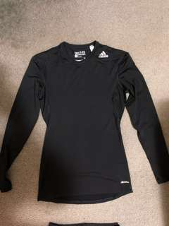 Adidas Techfit Compression Long Sleeve Top