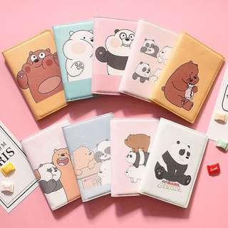 [FREE DELIVERY] We Bare Bear Passport Cover