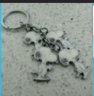 In Stock Snoopy Bunch Keychain