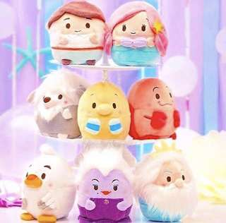 PREORDER : Disney Japan The Little Mermaid Ufufy Collection