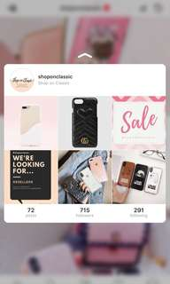 Visit us on Instagram for more Iphone Vivo Oppo Huawei Cases 💓