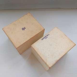 Old Watch Box, Rare Collectables, Vintage Raymond Weil Watch Box, Switzerland, Geneve, Authentic, Original