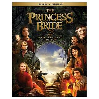 Princess Bride The 30th Anniversary Edition Blu-ray