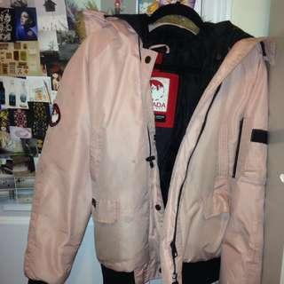 Light Pink Canada Weather Gear Winter Jacket