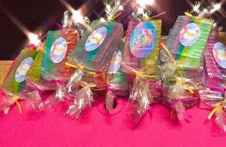 unicorn candy soap