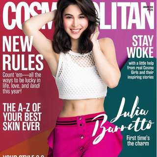 Cosmopolitan January 2018 Julia Barretto