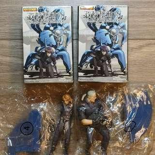 MegaHouse 攻殼機動隊 STAND ALONE COMPLEX 食玩盒蛋 男角1對