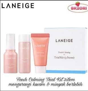Laneige trial kit fresh calming