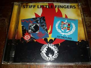 Music CD (2xCD): Stiff Little Fingers–Live And Loud! / Fly The Flags - Punk Rock