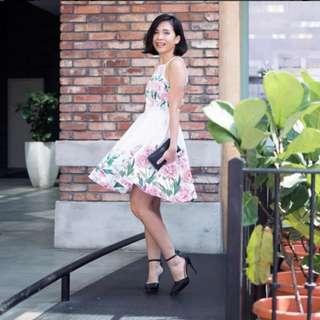 Twenty3 Floral A-line dress