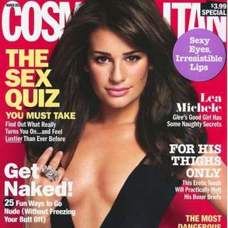 Cosmopolitan March 2011 Glee's Lea Michele